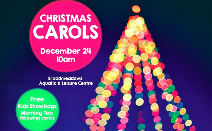 Christmas Carols – 24 December 10am